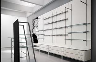 oprema za butike, zidni paneli